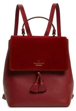 Kate Spade Hayes Street - Teba Leather & Suede Backpack