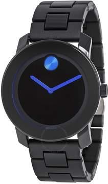 Movado Bold 42 mm Black Dial TR90 Polyurethane Men's Watch