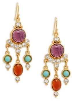 Ben-Amun Crystal Chandelier Earrings