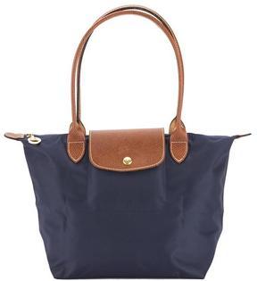 Longchamp Navy Nylon Canvas Le Pliage S Long Strap Bag - ONE COLOR - STYLE