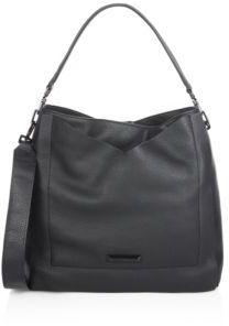 KENDALL + KYLIE Carina Leather Shoulder Bag