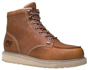Timberland Men's Barstow Wedge Boot 6' Moc Alloy Safety Toe