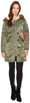 Alpha Industries Elyse Parka Women's Jacket