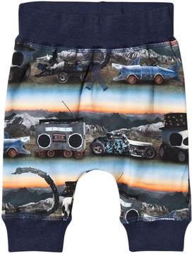 Molo Blue Movin' It Sammy Soft Pants