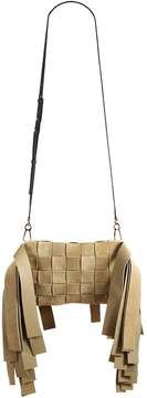 Loewe Women's Paneled Fringe Suede Bag