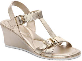 Italian Shoemakers Women's Henna Wedge Sandal