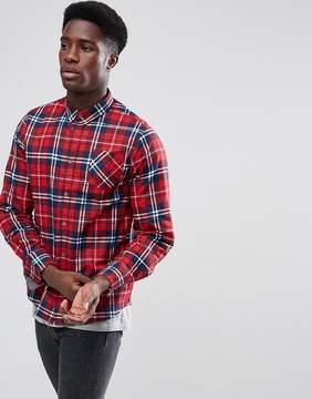 Brave Soul Check Flannel Shirt