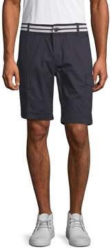 ProjekRaw PROJEK RAW Men's Striped-Waist Cargo Shorts