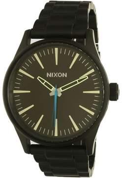 Nixon Women's Sentry A450712 Black Stainless-Steel Quartz Fashion Watch
