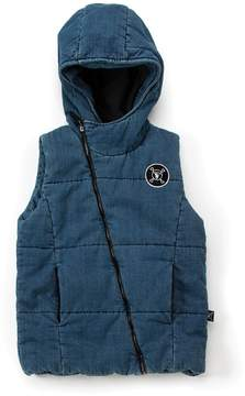 Nununu Youth Denim Down Vest