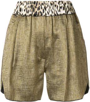 Forte Forte high waisted floaty shorts