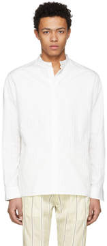 Haider Ackermann White Casual Shirt