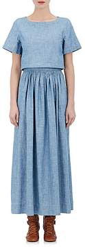 Chloé Women's Cotton Chambray Maxi Dress