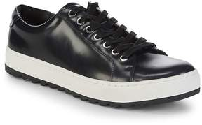 Karl Lagerfeld Men's Classic Leather Platform Sneakers
