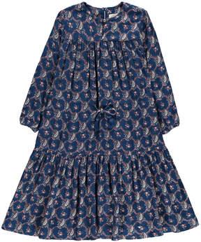 Simple Mclaren Cashmere Printed Maxi Dress
