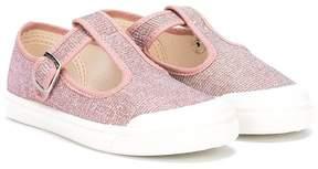 Pépé glitter buckle sneakers