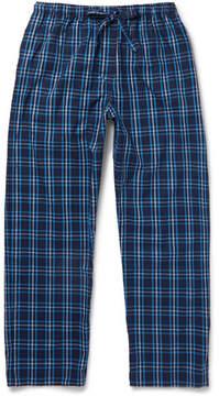 Derek Rose Checked Cotton-Flannel Pyjama Trousers