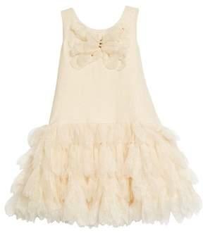Kate Mack Sleeveless Tulle Dress
