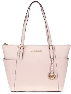 Michael Kors Jet Set Saffiano Leather Tote -Soft Pink - ONE COLOR - STYLE