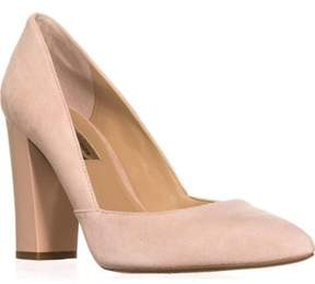 INC International Concepts Womens Elorra Leather Pointed Toe Classic Pumps.