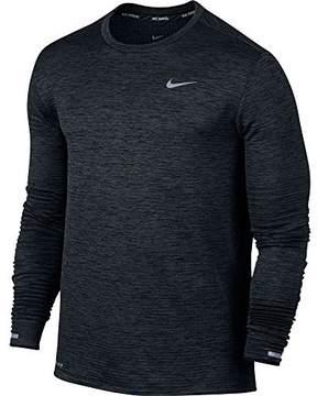 Nike Men Therma Sphere Element Running Top, Black (S)