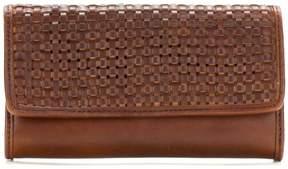 Patricia Nash Terresa Woven Leather Signature Wallet