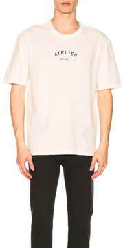Maison Margiela Rough Cotton Jersey Tee