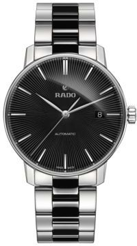 Rado Coupole Classic Stainless Steel and High-Tech Ceramic Bracelet Automatic Watch