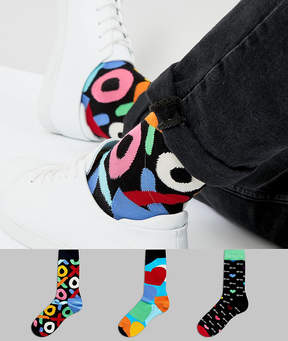 Happy Socks Valentines Gift Box 3 Pack Socks