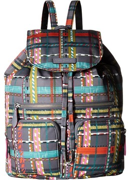 Vera Bradley Midtown Cargo Backpack Backpack Bags - BLACK - STYLE