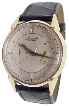 Jaeger-LeCoultre Futurematic 14K Yellow Gold 35mm Mens Watch 1960s