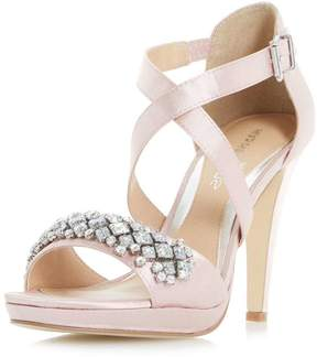 Head Over Heels *Head Over Heels by Dune Nude 'Maisy' High Heeled Sandals
