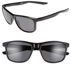 Nike Men's Unrest 57Mm Sunglasses - Black/ Matte Black