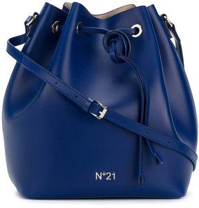 No21 drawstring bucket bag