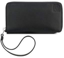 Anne Klein Zippered Leather Wristlet