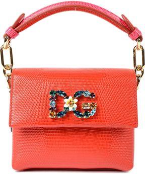 Dolce & Gabbana Millennials Tote - RED - STYLE