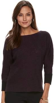 Dana Buchman Women's Boatneck Sweater
