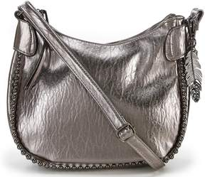 Jessica Simpson Camile Metallic Cross-Body Bag