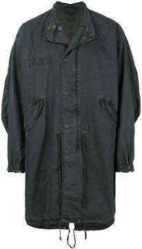 RtA zip up denim jacket