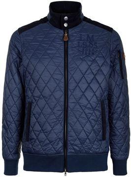La Martina Diamond Quilt Bomber Jacket