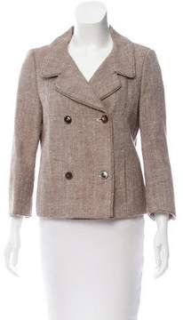 Strenesse Double-Breasted Tweed Jacket