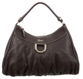 Gucci Large D-Ring Hobo - BROWN - STYLE