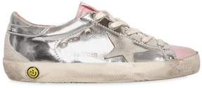 Golden Goose Deluxe Brand Super Star Metallic Leather Sneakers