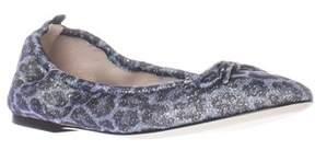 Sarah Jessica Parker Gelsey Ma Casual Stretch Ballet Flats, Blue.