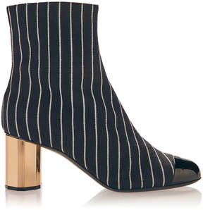 Marco De Vincenzo Striped Boots