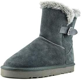 Style&Co. Style & Co Tiny 2 Women Round Toe Suede Gray Winter Boot.