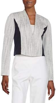 T Tahari Women's Cierra Paneled Jacket