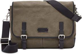 Fossil Graham Canvas Messenger Bag