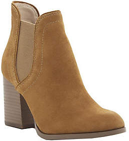 Sole Society Leather Ankle Boots - Carillo