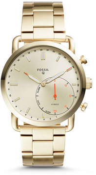 Fossil Hybrid Smartwatch - Q Commuter Gold-Tone Stainless Steel